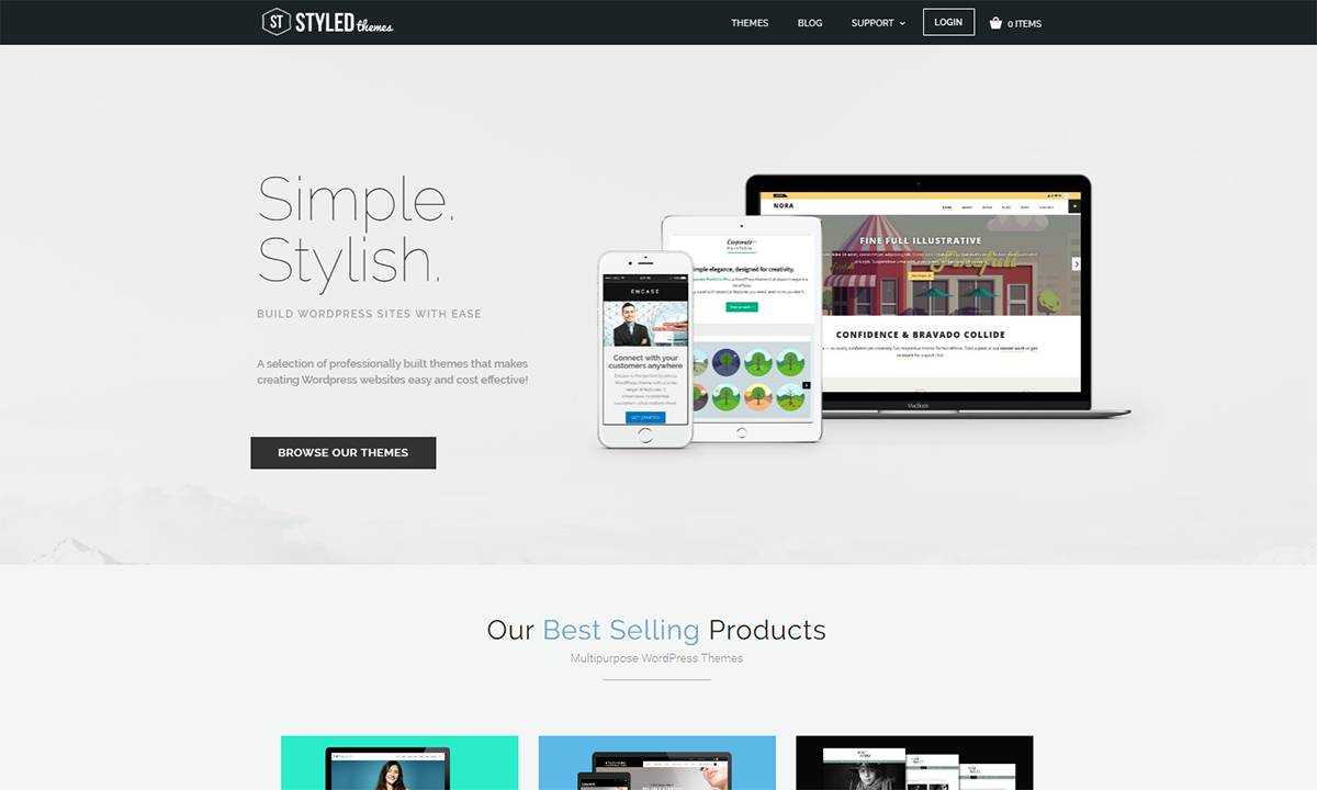 new-styledthemes-redesigned-wordpress-theme-shop-2017