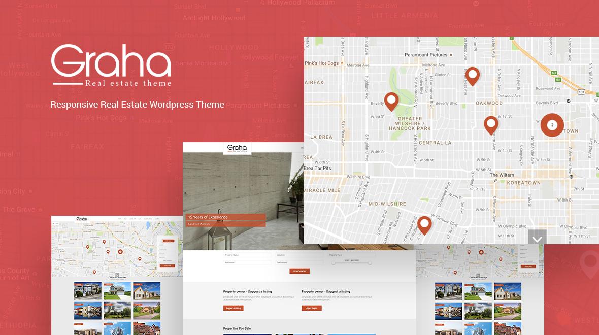Graha property agent wordpress theme