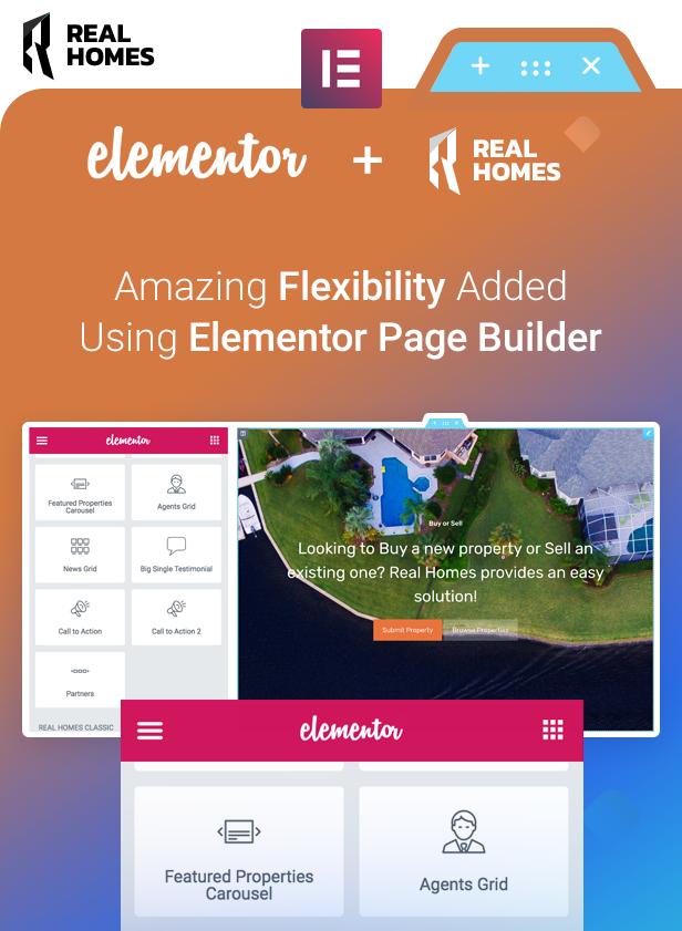 Realhomes - Elementor ready property WordPress theme