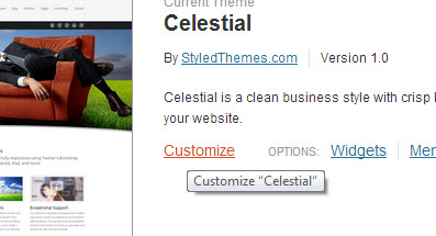 celestial-customize-page