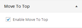 enable move top top